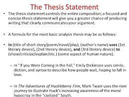 Thesis Statement Examples For Essays Essay Writing Services In The Uk Sarlat Emily Dickinson