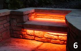 diy led step lights diy garden lighting