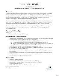 Bar Work Resume Example Best of Restaurant Owner Resume Lifespanlearn