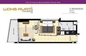 High Class Beachfront 1 Bedroom Condo: Wong Amat Tower, Naklua