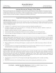 Restaurant Job Resume Best Of Job Description Examples For Resume Resume Job Description Examples