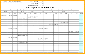 10 Hour Shift Schedule Templates 10 Hour Work Day Schedule Template