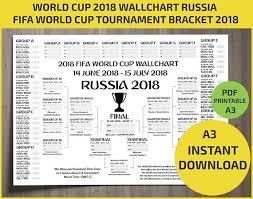 World Cup Chart Pdf Wallchart Fifa 2018 World Cup Russia Pdf Printable