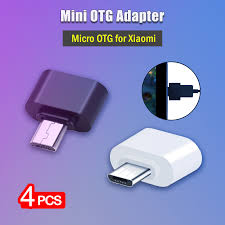 <b>4Pcs</b> USB to Micro OTG <b>Adapter</b> for <b>Xiaomi Mi</b> 4 4i A2 Lite Play ...