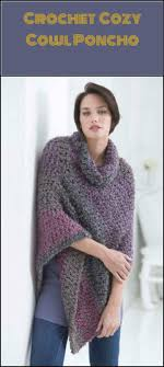 Free Crochet Poncho Patterns Enchanting 48 Free Crochet Poncho Patterns For All DIY Crafts