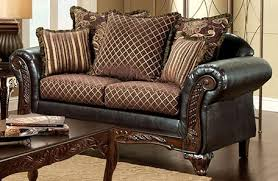 Buy Furniture of America SM7635 LV San Roque Love Seat with