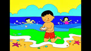 Bài thơ Bé nhìn biển - KidsOnline