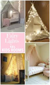Create a magical scene in kids rooms with fairy lights!