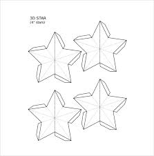 3D Star Free PDF template Download star template 19 download documents in pdf, psd, vector eps on template pdf download