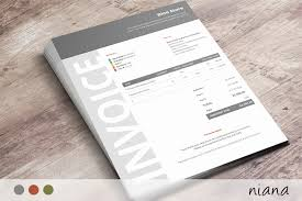 Modern Invoice Modern Invoice Design Under Fontanacountryinn Com