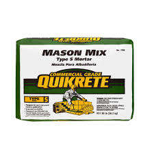 Lafarge Mortar Color Chart Quikrete 80 Lb Type S Mason Mix 113680 The Home Depot