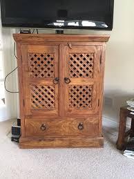 John Lewis Maharani dark sheesham wood furniture for lounge dining