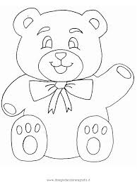 Disegno Orso107 Animali Da Colorare