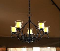 tea light chandelier tea light chandeliers rustic votive chandelier hanging candle holder patio indoor outdoor lighting
