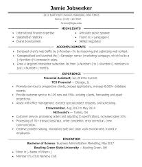 Sample Resume Achievements Achievement On Resume Sample With