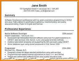 Sample Summary Statement Resume Personal Statements For Resumes Career Summary Example Resume One