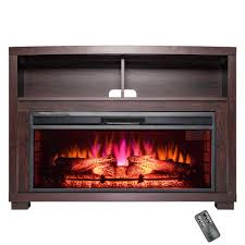44 in freestanding electric fireplace insert