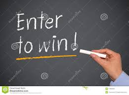 enter to win stock photos images pictures images enter to win on chalkboard royalty stock photography