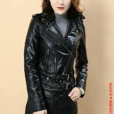 best women faux leather jacket black biker jackets aviator coat new 2018 short motorcycle coats female s xl jaqueta couro drop ship under 46 95 dhgate