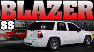 11 second Chevy Trailblazer SS supercharged 6.0L Lsx drag racing ...