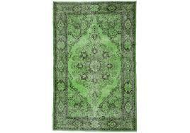 overdyed rug 5 8 x 9 feet 178 cm x 277 cm
