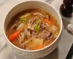 tonjiru anese pork and vegetable miso soup