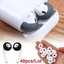 40 adet Yumuşak Köpük Değiştirme Yumuşak Kulaklık Köpük Kapak Sünger kulaklık  yastığı Airpods Durumda Earpods Kayma Önleyici Sünger Kulaklık|Earphone  Accessories