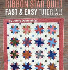 493 best Missouri Quilt Tutorials images on Pinterest | Tutorials ... & Quilt MSQC Ribbon Star 5. Missouri Star Quilt TutorialsQuilting ... Adamdwight.com