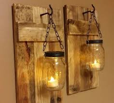 fearsome wall candles photo concept outdoor lighting ideas with diy hanging mason jar candle