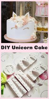 Diy Unicorn Cake Kit Is Perfect For A Unicorn Birthday Party Or