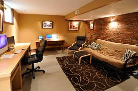home office in basement. Another Cool Basement Office Concept Home In S