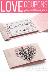 Relationship Coupon Book Romantic Coupons To Download Personalize And Print