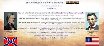 american civil war online simulation hcps history resources civil war simulation