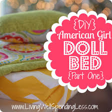 diy american girl doll bed diy doll furniture diy toys crafts pretty