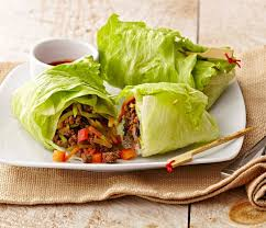 game day goo korean beef lettuce rolls