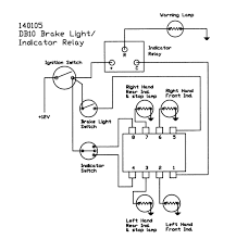 Brake light pressure switch wiring diagram with