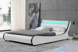 Double Bed Led Light Cherry Tree Furniture Heka Designer Led Light Headboard