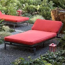 eye catching sunbrella cushion covers of amazing oversized outdoor chaise lounge alyssa textured crimson