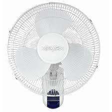 3 sd 16 inch wall mounted remote fan