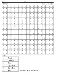 Color By Code Worksheets Best Color By Numbers Ideas On Color By ...