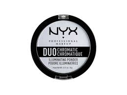 best highlighter nyx duo chromatic highlighting powder