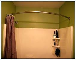 mesmerizing double curved shower curtain rods curved shower curtain rod curved shower curtain rod image of