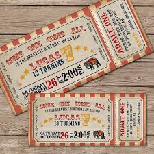 Circus Party Invitation Best Circus Invitation Circus Birthday Invitation Circus Party Vintage