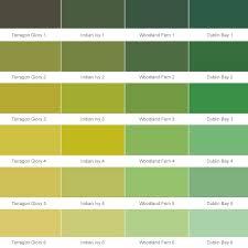 43 Genuine Delux Paint Chart