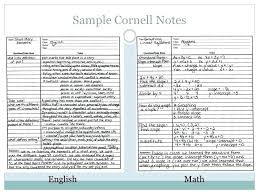 Cornell Notes Template Word Cornell Notes Online Andeshouse Co