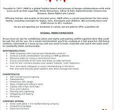 Visual Merchandiser Cover Letters Merchandising Resume Thrifdecorblog Com