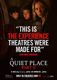 A Quiet Place Part 2 And Dolby Atmos ...