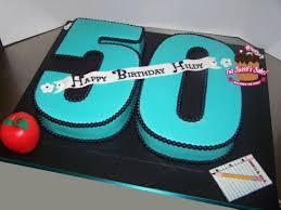 50th Birthday Cake Cake By Ladybug9 Cakesdecor