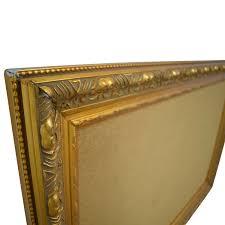 ballard designs ballard designs cork board in gold frame for