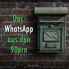 Das Whatsapp Aus Den 90ern Kaufdex Lustige Sprüche